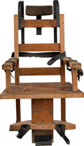 Antiques:Antiquities, An Electric Chair....