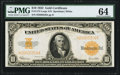 Large Size:Gold Certificates, Fr. 1173 $10 1922 Gold Certificate PMG Choice Uncirculated 64.. ...
