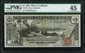 Large Size:Silver Certificates, Fr. 225 $1 1896 Silver Certificate PMG Choice Extremely Fine 45.....