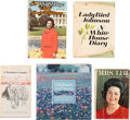 Autographs:U.S. Presidents, Lyndon B. and Lady Bird Johnson: Five Signed Books.... (Total: 5Items)