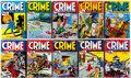 Books:Sets, Dark Horse Archives: Crime Does Not Pay Volumes 1-10 Group(Dark Horse, 2012-2015) Condition: Average NM-.... (Total: 10Items)