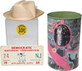Political:3D & Other Display (1896-present), Lyndon B. Johnson: Four Assorted Campaign Items....
