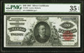 Large Size:Silver Certificates, Fr. 320 $20 1891 Silver Certificate PMG Choice Very Fine 35 EPQ.....