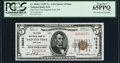 National Bank Notes:New York, Painted Post, NY - $5 1929 Ty. 1 The First NB Ch. # 13664. ...