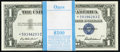 Small Size:Silver Certificates, Fr. 1619*/1619 $1 1957 Silver Certificates. Original Pack of 100. Gem Crisp Uncirculated.. ... (Total: 100 notes)