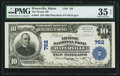 National Bank Notes:Maine, Waterville, ME - $10 1902 Plain Back Fr. 624 The Ticonic NB Ch. #762. ...