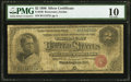 Large Size:Silver Certificates, Fr. 240 $2 1886 Silver Certificate PMG Very Good 10.. ...