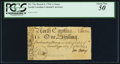 Colonial Notes:North Carolina, North Carolina March 9, 1754 1s Swan PCGS About New 50.. ...