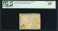 Colonial Notes:North Carolina, North Carolina April 2, 1776 $1/2 Crow and Pitcher PCGS ExtremelyFine 40.. ...