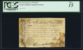 Colonial Notes:North Carolina, North Carolina August 21, 1775 $1/4 PCGS Fine 15.. ...
