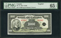 Canadian Currency, BC-19 $1000 1935.. ...