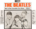 Music Memorabilia:Memorabilia, Beatles - Original Capitol Records Meet the Beatles MovingHeads Store Display (1964). ...