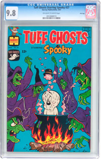 Tuff Ghosts Starring Spooky #27 File Copy (Harvey, 1967) CGC NM/MT 9.8 Off-white to white pages