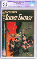 Golden Age (1938-1955):Science Fiction, Weird Science-Fantasy #29 (EC, 1955) CGC Apparent FN- 5.5 Slight(C-1) Off-white to white pages....