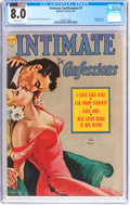 Golden Age (1938-1955):Romance, Intimate Confessions #7 (Realistic Comics, 1952) CGC VF 8.0Off-white pages....