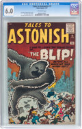 Silver Age (1956-1969):Horror, Tales to Astonish #15 (Marvel, 1961) CGC FN 6.0 Off-white pages....