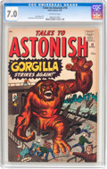 Silver Age (1956-1969):Horror, Tales to Astonish #18 (Marvel, 1961) CGC FN/VF 7.0 Off-whitepages....