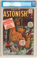 Silver Age (1956-1969):Horror, Tales to Astonish #11 (Atlas, 1960) CGC VG+ 4.5 Off-white pages....
