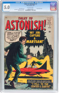 Silver Age (1956-1969):Science Fiction, Tales to Astonish #2 (Marvel, 1959) CGC VG/FN 5.0 Off-white pages....