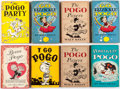 Books:Vintage Paperbacks, Pogo Vintage First Printing Paperbacks Group of 8 (Simon and Shuster, 1950s) Condition: Average VG.... (Total: 8 Items)