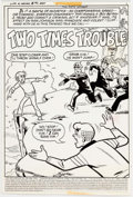 """Original Comic Art:Complete Story, Archie Artist Life with Archie #193: """"Two Times Trouble""""Complete 11-Page Story Original Art (Archie Comics, 1978)...(Total: 11 Original Art)"""