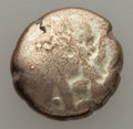 Ancients:Celtic, Ancients: NORTHEAST GAUL. Remi. Ca. 125-50 BC. AV (debased) 1/4stater (11mm, 1.56 gm, 9h). About Fine....
