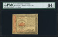 Colonial Notes:Continental Congress Issues, Continental Currency January 14, 1779 $50 PMG Choice Uncirculated64 EPQ.. ...