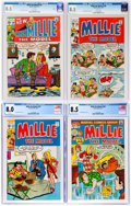 Bronze Age (1970-1979):Humor, Millie the Model CGC-Graded Group of 4 (Marvel, 1970-73).... (Total: 4 Comic Books)