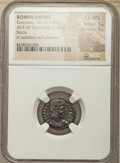 Ancients:Roman Imperial, Ancients: Constans (AD 337-350). AE 4 or BI nummus (19mm, 2.02 gm, 7h). NGC Choice MS 5/5 - 5/5....
