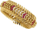 Estate Jewelry:Bracelets, Ruby, Gold Bracelet, Tiffany & Co. . ...