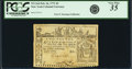 Colonial Notes:New York, Colony of New York February 16, 1771 2 Pounds Fr. NY-164. PCGS VeryFine 35 Apparent.. ...