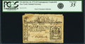 Colonial Notes:New York, Colony of New York February 16, 1771 3 Pounds ContemporaryCounterfeit Fr. NY-165CF. PCGS Very Fine 35 Apparent.. ....