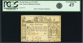 Colonial Notes:New York, Colony of New York February 16, 1771 10 Pounds Fr. NY-167. PCGSExtremely Fine 45 Apparent.. ...