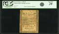 Colonial Notes:Pennsylvania, Pennsylvania May 1, 1760 5 Pounds Fr. PA-114. PCGS Very Fine 20Apparent.. ...