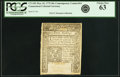 Colonial Notes:Connecticut, Colony of Connecticut May 10, 1775 40 Shillings ContemporaryCounterfeit Fr. CT-182. PCGS Choice New 63.. ...
