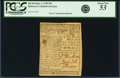 Colonial Notes:Delaware, Colony of Delaware June 1, 1759 20 Shillings Fr. DE-68. PCGS AboutNew 53 Apparent.. ...