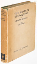 Books:Children's Books, Kenneth Grahame. [Ernest H. Shepard, illustrator]. The Wind inthe Willows. London: Methuen & Co., [1931]. First edi...