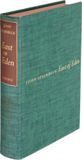 Books:Literature 1900-up, John Steinbeck. East of Eden. New York: The Viking Press, 1952. First edition, limited issue, limited to 1500 unnumb...