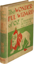Books:Children's Books, L. Frank Baum. The Wonderful Wizard of Oz. Chicago and NewYork: Geo. M. Hill, 1900. First edition, first state of t...