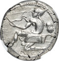 Ancients:Greek, Ancients: CILICIA. Soloi. Ca. 440-400 BC. AR stater (20mm, 10.69 gm, 5h). NGC MS ★ 5/5 - 4/5....