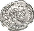 Ancients:Roman Imperial, Ancients: Pertinax (AD 193). AR denarius (19mm, 3.56 gm, 12h). NGC XF 5/5 - 5/5....