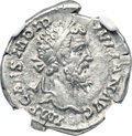 Ancients:Roman Imperial, Ancients: Didius Julianus (AD 193). AR denarius (19mm, 2.63 gm, 5h). NGC Choice XF ★ 5/5 - 5/5....