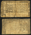 Colonial Notes:Maryland, Maryland January 1, 1767 $1/2 Fine;. Maryland April 10, 1774 $2/3Very Good.. ... (Total: 2 notes)
