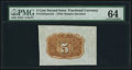 Fractional Currency:Second Issue, Fr. 1232SP 5¢ Second Issue Wide Margin Back PMG Choice Uncirculated 64.. ...