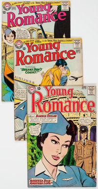 Young Romance Group of 28 (DC, 1963-75) Condition: Average VG.... (Total: 28 )