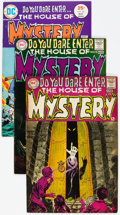 Bronze Age (1970-1979):Horror, House of Mystery Box Lot (DC, 1968-83) Condition: Average FN+....