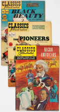 Golden Age (1938-1955):Classics Illustrated, Classics Illustrated First Editions Group of 54 (Gilberton,1947-69) Condition: Average VG.... (Total: 54 Comic Books)