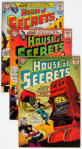 Silver Age (1956-1969):Horror, House of Secrets #67-80 Group (DC, 1964-66) Condition: AverageGD/VG.... (Total: 14 )