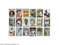 Baseball Cards:Sets, 1961-72 Topps Baseball Set Run. 1961 Topps Complete Set (587).Topps returned to its traditional vertical format for its 5...