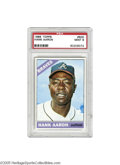 Baseball Cards:Singles (1960-1969), 1966 Topps Hank Aaron #500 PSA Mint 9. Of the 563 such cards seenby PSA at the time of this writing, not a single one has ...